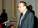 Oláh György a JATE díszdoktora 1995