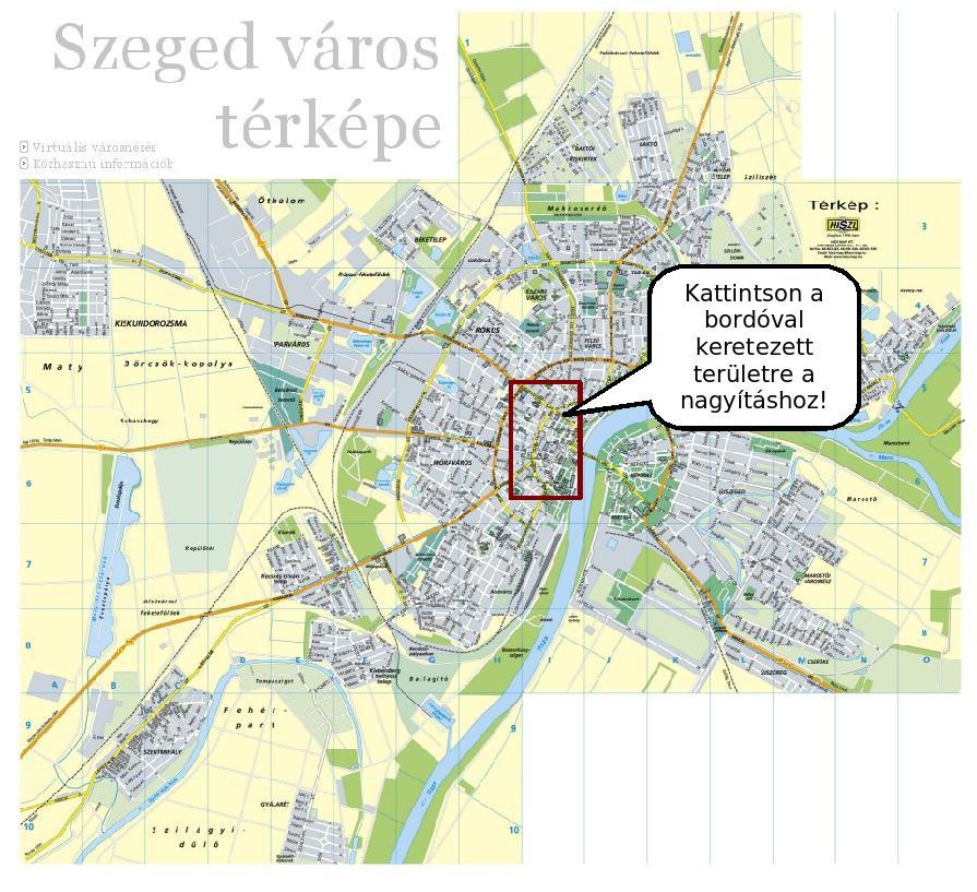 térkép szeged Szeged város térképe térkép szeged